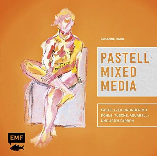 Pastell Mixed Media: Pastellzeichnungen mit Kohle, Tusche, Aquarell- und Acrylfarben