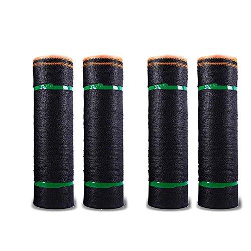 HUO Ombre UV Protection Contre Le Vent Pergola Patio Auvent 2x100m / 79x3937inch (Couleur : Noir, Taille : 4-pin)