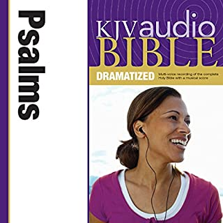 Dramatized Audio Bible - King James Version, KJV: (18) Psalms audiobook cover art