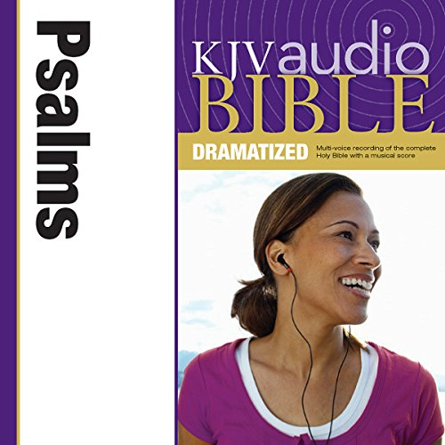 KJV Audio Bible: Psalms (Dramatized) audiobook cover art