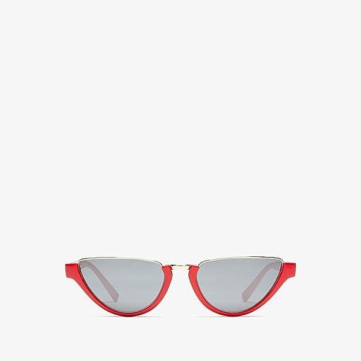 Red/Grey Mirror Silver