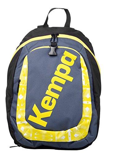 Kempa Kinder Tasche RUCKSACK, petrol/Gelb, 50 x 25 x 10 cm, 15 Liter