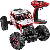 Click N' Play Rock Crawler RC Coche Azul vehículo