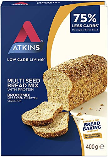 Atkins Day Break Brotbackmischung, 2er Pack (2 x 400 g)