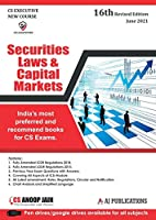 Aj publication CS Executive Securities Laws and Capital Markets New Syllabus By CS Anoop Jain Applicable for June 2021 Exam