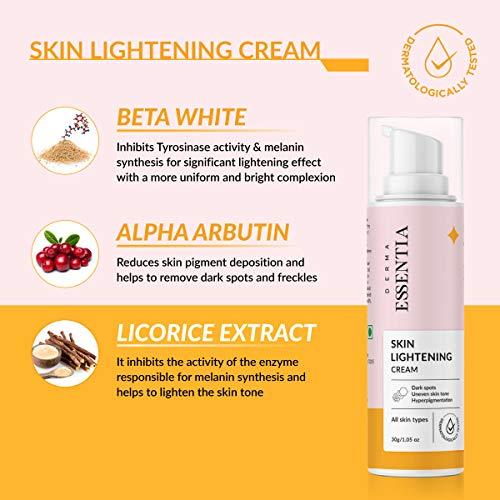Derma Essentia skin lightening cream for pigmentation and dark spots