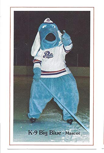 K-9 BIG BLUE 1982-83 Regina Pats Mascot Police SGA #25 Hockey Card