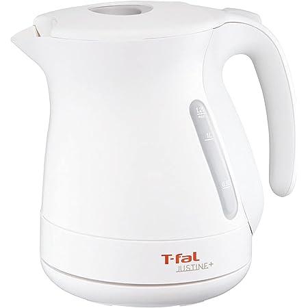 ティファール ケトル 1.2L ジャスティンプラス ホワイト たっぷり 空焚き防止 自動電源OFF 湯沸かし KO340175