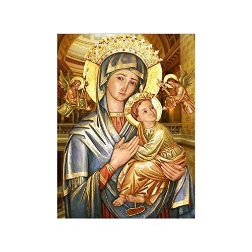 jieGorge 5d Fai da Te Diamante Pittura Ricamo Artigianato Strass incollato Punto Croce, Pittura Diamante per Il Giorno di Pasqua (d)