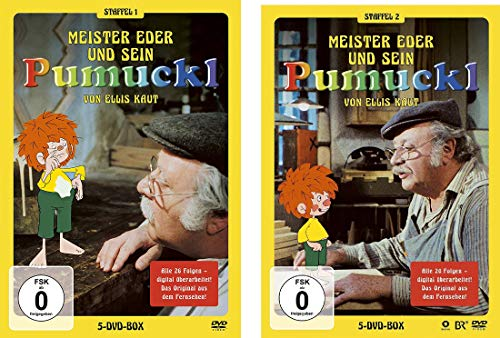 Pumuckl Staffel 1+2 DVD im Set - Deutsche Originalware [10 DVDs]