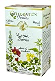 CELEBRATION HERBALS Juniper Berries Tea Organic 24 Bag, 0.02 Pound