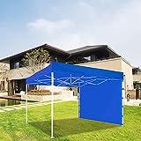 RDJSHOP Toldo Plegable Al Aire Libre Impermeable Y Resistente a Los Rayos UV de Cuatro Esquinas de Tela Oxford Toldo de Tienda Toldo Toldo Vela Adecuada para La Decoración de Jardín Y