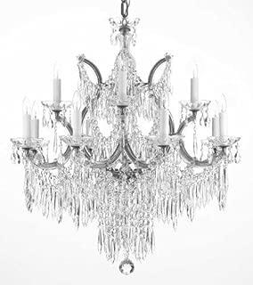 Chandelier U Drops Crystal Chandeliers Waterfall Lighting H30