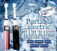 携帯型音波振動 電動歯ブラシ DH-01 ブラック