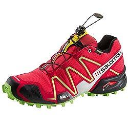 SALOMON Speedcross 3 GTX W Women's Running Shoe 372400 Papaya / Dynamic / Firefly Green Gr. 40 2 / 3 (UK 7,0)