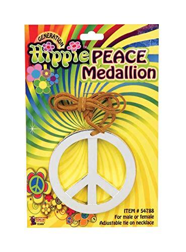 Bristol Novelty Peace Medallion , Fancy Dress Accessory