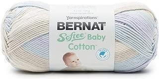 Bernat Softee Baby Cotton Fabric, Rain Storm