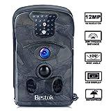 Bestok Caméra de Chasse 12MP Full HD Grand Angle 120° Caméra de Surveillance 20M Infrarouge...