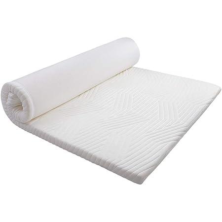 MyeFoam マットレス 高反発 シングル 敷布団 厚さ4cm ベットマットレス 「超ぐっすりで首、肩や腰の悩みから解放」 防ダニ 抗菌防臭 カバー洗える