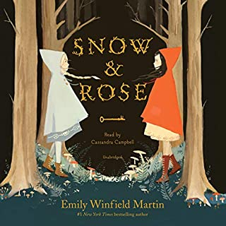 Snow & Rose audiobook cover art