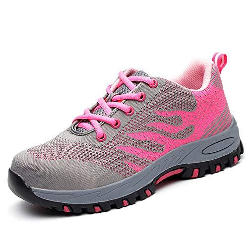 Zapatillas Seguridad Hombre Mujer, Zapatos Trabajo Unisex C