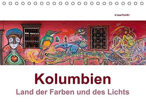 Kolumbien - Land der Farben und des Lichts (Tischkalender 2016 DIN A5 quer): Die Highlights Kolumbiens in beeindruckenden Panoramaaufnahmen (Monatskalender, 14 Seiten ) (CALVENDO Orte)