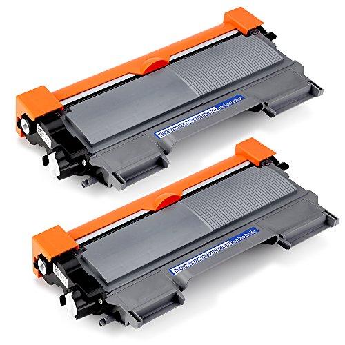 OfficeWorld TN2220 Toner TN-2220 Cartuccia del toner Compatibile per Brother MFC-7360N HL-2130 DCP-7055 DCP-7065DN DCP-7055W MFC-7460DN MFC-7860DW HL-2240 HL-2250DN HL-2240D HL-2270DW, 2 Nero