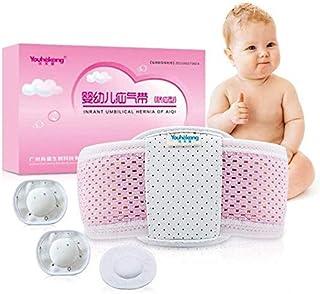 زر بطن الرضع، دعامة لسان السرة قابل للتعديل/زر بطن حديثي الولادة / ربط للبطن/حقيبة مسامية للأطفال، مناسبة لعمر 0 إلى 2 سنوات