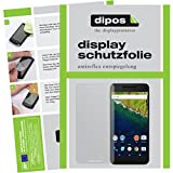dipos I 6X Schutzfolie matt kompatibel mit Huawei Google Nexus 6P Folie Bildschirmschutzfolie