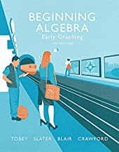 Best beginning algebra early graphing 4th edition Reviews