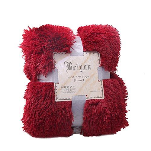 Urijk Couverture en Peluche Confortable pour Enfant Couvre Lit Literie Tapis Ultra Doux pour Lit Canapé Voiture Fauteuil Chaise de Grande Taille pour Animaux Domestique Chien Chat 130 * 160cm