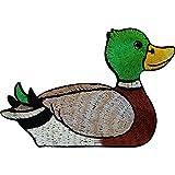 Bordado de hierro en parche Sew On Badge bordado de animales ropa Applique