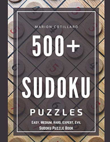 500 Sudoku Facile Moyen Difficile: 500 Grilles - Niveau Simple - Pour adultes ou enfants Broché
