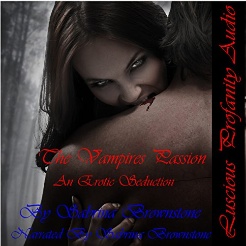 The Vampire's Passion audiobook cover art