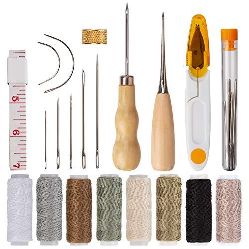 AIEX 29 Cuero Artesanía de Cuero Kit de Costura Manual de Bricolaje...