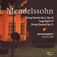 String Quartet Op.13 String Quintet No.2 Fuga