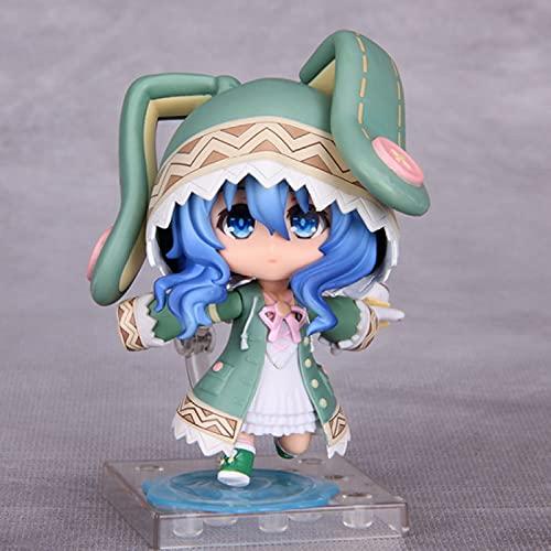 10 Cm #23 Anime Figure Date A Live Yoshino Hermit Q Mignon PVC Action Figure Jouet Jeu Statue Collection Modèle Poupée Enfants Cadeau