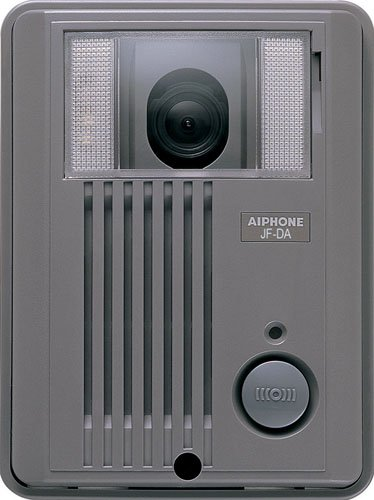Aiphone JF-DA Surface-Mount Audio/Video Door Station for JF Series Intercom System, ABS Plastic Housing