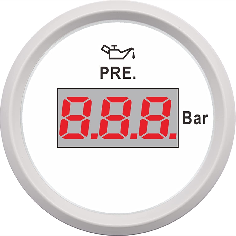 Max 74% OFF LJZXX Pressure Gauge 0-5 Oil Bar PRE OFFicial mail order 0-10