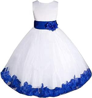 AMJ Dresses Inc Big/Little Girls Flower Girl Communion Pageant Wedding Easter Dress
