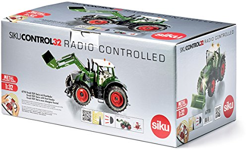 RC Auto kaufen Traktor Bild 4: Siku 6778 - Fendt 939 Vario mit Frontlader und Fernsteuermodul, Fahrzeuge mit Funktion, grün*