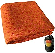 Antislip Draagbare Yoga Mat Cover Handdoek Microfiber Sneldrogend Yoga Deken Soft Travel Sport Fitness Oefening Pilates Ma...