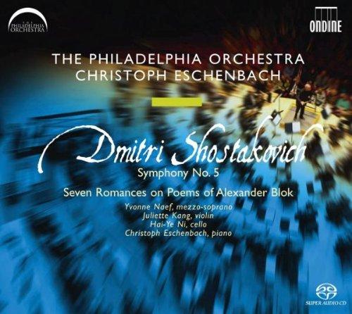 Dmitri Schostakowitsch: Sinfonie Nr.5 d-Moll op.47 / Sieben Romanzen über Gedichte von Alexander Blok op.127