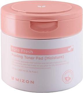 Mizon AHA BHA PHA Clear Face Pads, Exfoliating Toner Pads, Double Sided Peeling Toner Pad, Korean Facial Cleansing Pads, H...