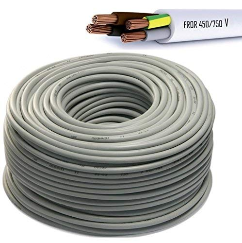 Cable Icel eléctrico multipolar aislante para instalaciones eléctricas y de tubería, cable...