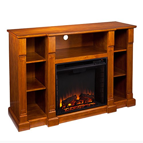 Home Decorators Collection Kendall Media Fireplace