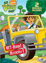 Off-Road Rescue!/Wave Rider! (Go, Diego, Go!) (Flip-It Super Coloring Book)