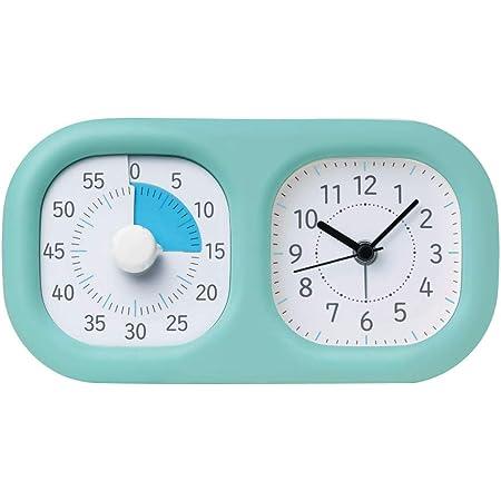 ソニック 時っ感タイマー トキ・サポ 時計プラス 時間の経過を実感 ミントブルー LV-3521-MB