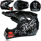 Casques Tout-Terrain Descente Racing Montagne Casque intégral Moto Moto Cross Casco Casque capacete-a76-XL