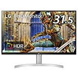 LG モニター ディスプレイ 32UN650-W 31.5インチ/4K/HDR/IPS非光沢/HDMI×2、DP/FreeSync対応/スピーカー搭載/フリッカーセーフ、ブルーライト低減